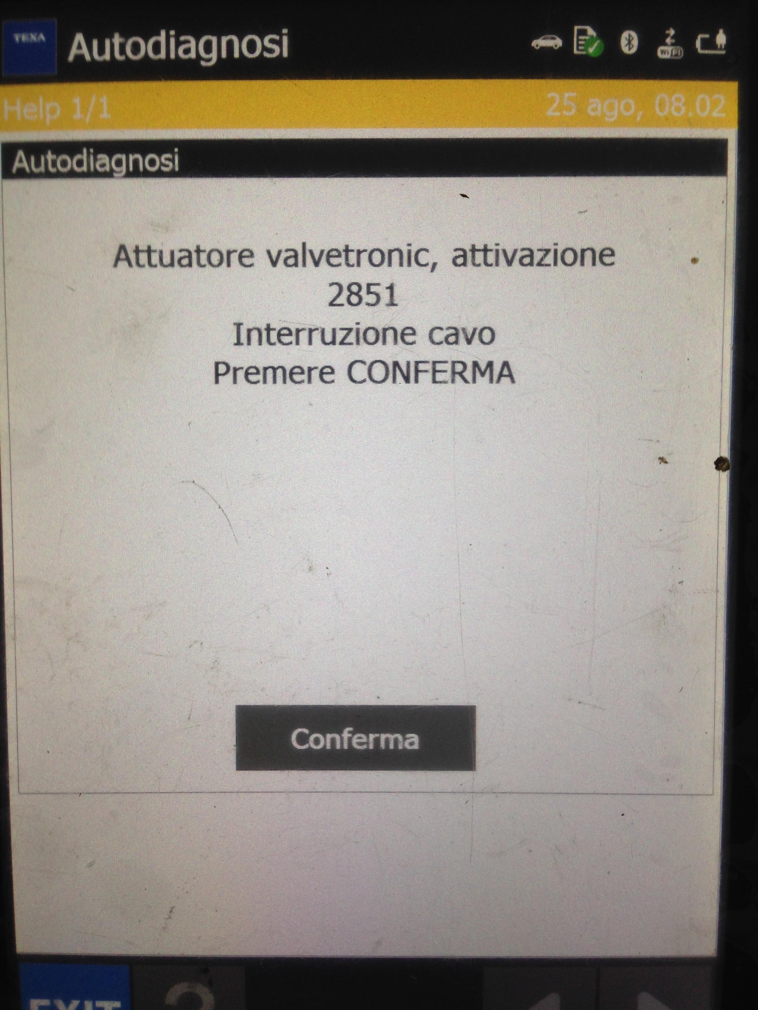 Schema Cablaggio Mini Cooper : Mini one attuatore valvetronic